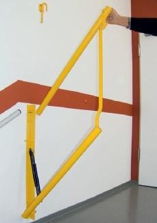 Treppenabsturzsicherung klappbar