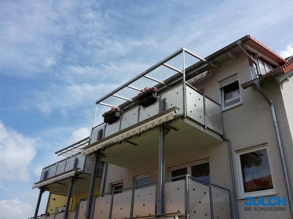 Balkon Ueberdachung