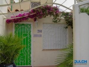 Gittertuere Fenstergitter dekorative Muster, Zierleiste, Kunst Designerfenstergitter Tieroptik Flamingo Moewe